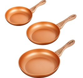 AICOOK Copper Fry Pan