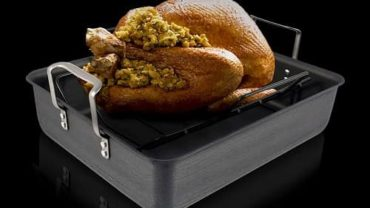 Calphalon Classic hard-anodized Roasting Pan
