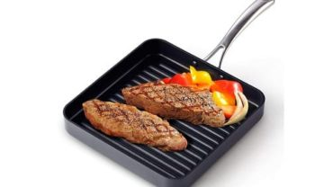 Cooks Standard Hard Anodized Nonstick Square Grill Pan