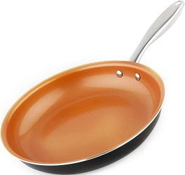Michelangelo Copper Frying Pan