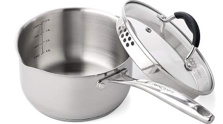 AVACRAFT Stainless Steel Saucepan
