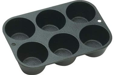 Indipartex Cast Iron Popover pan
