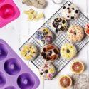 Klemoo silicone non-stick donut pan