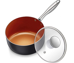 MICHELANGELO 3 Quart Saucepan