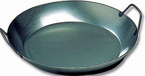 MatferBourgeat Black Steel Paella Pan