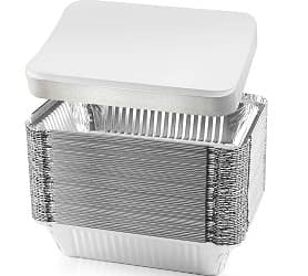 NYHI Disposable Aluminum Foil Pans
