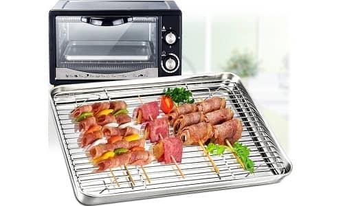 TeamFar Toaster Oven Pan