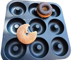 Unicorn Glitter Silicone donut pan