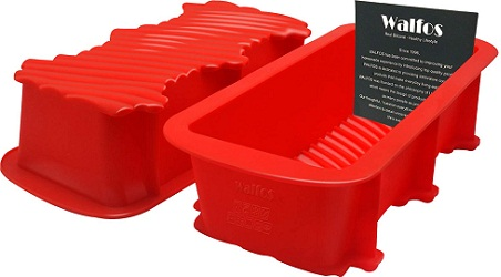 Walfos Nonstick Silicone Bread and Loaf Pan