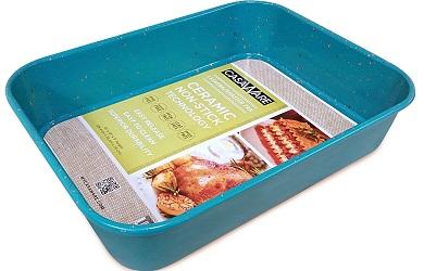 casaWare Ceramic Coated NonStick Lasagna Pan