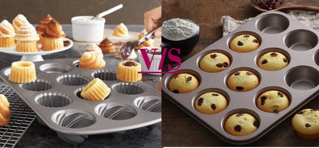 Muffin Pan vs. Cupcake Pan