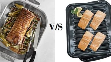 Roasting Pan vs. Broiler Pan