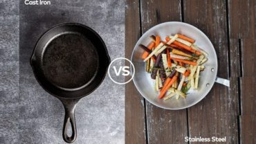 Cast Iron Pan vs. Stainless Steel Pan