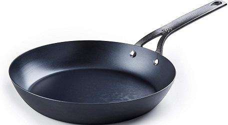BK Cookware Black Carbon Steel Skillet