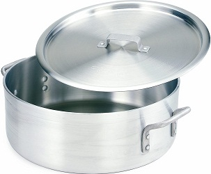 Crestware Extra Heavy Weight Aluminum Braziers