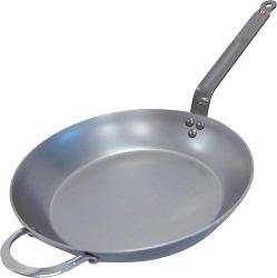 De Buyer MINERAL Carbon Steel Fry Pan