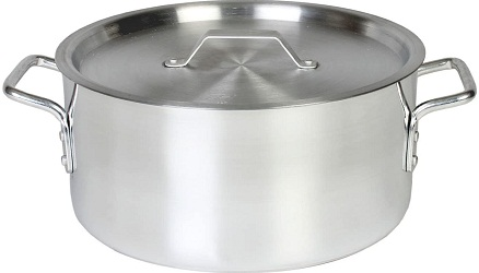 Thunder Group 8 Quart Aluminum Braiser