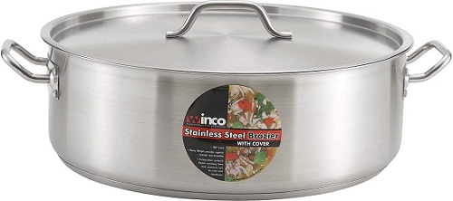 Winware Stainless Steel 15 Quart Brasier